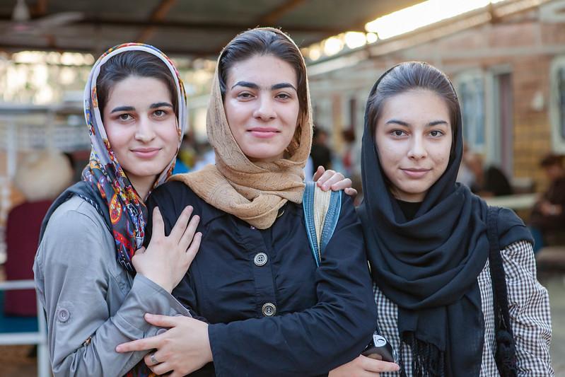 Facetas femeninas de Irán