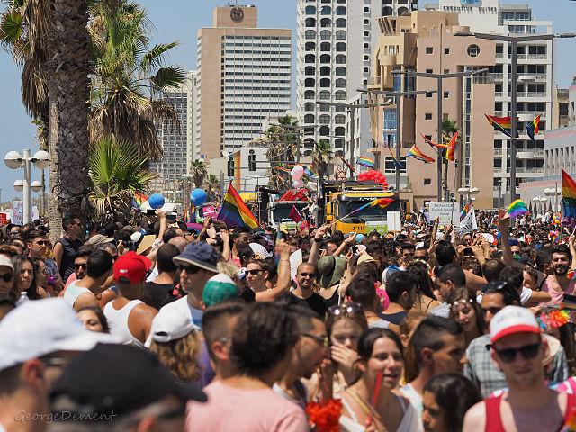 Marcha LTGBT en Tel Aviv