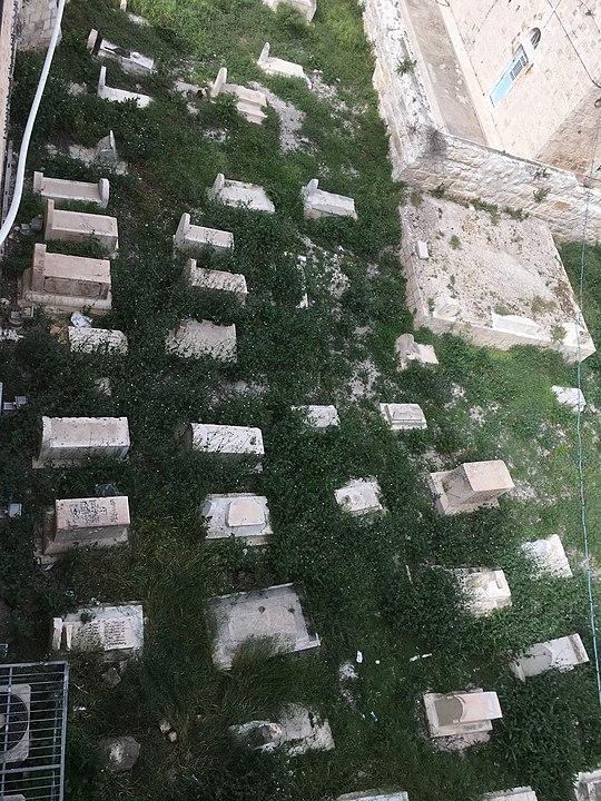 Tumba de David en el cementerio islámico