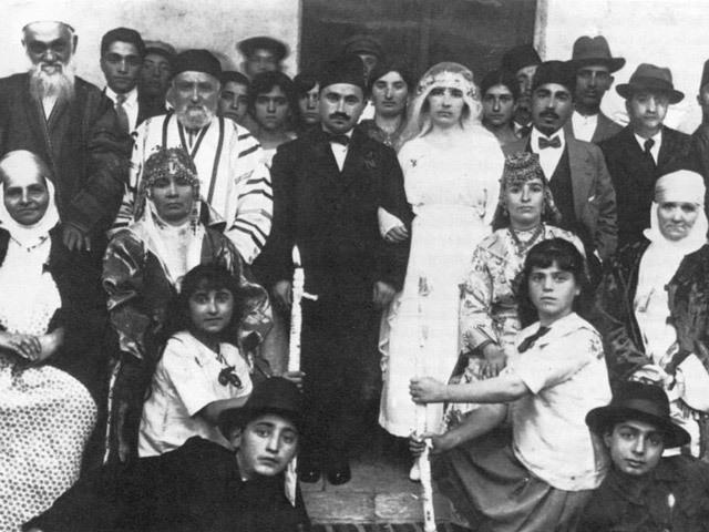 Boda judía en Bagdad. Foto Crédito: Jimena