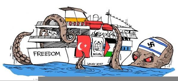 El ilustrador brasileño Latuf, conocido por replicar caricaturas antisionistas en la actualidad